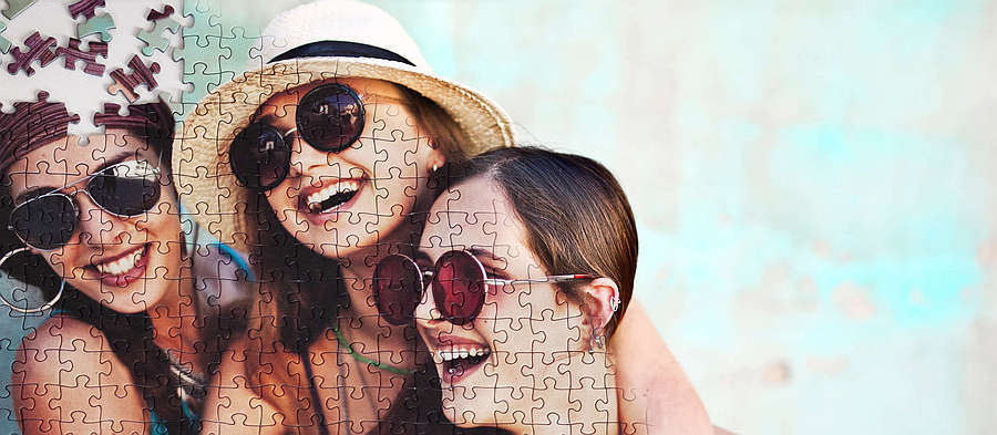 Create photo jigsaw puzzle!
